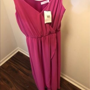 Long pink maxi dress, new with tag